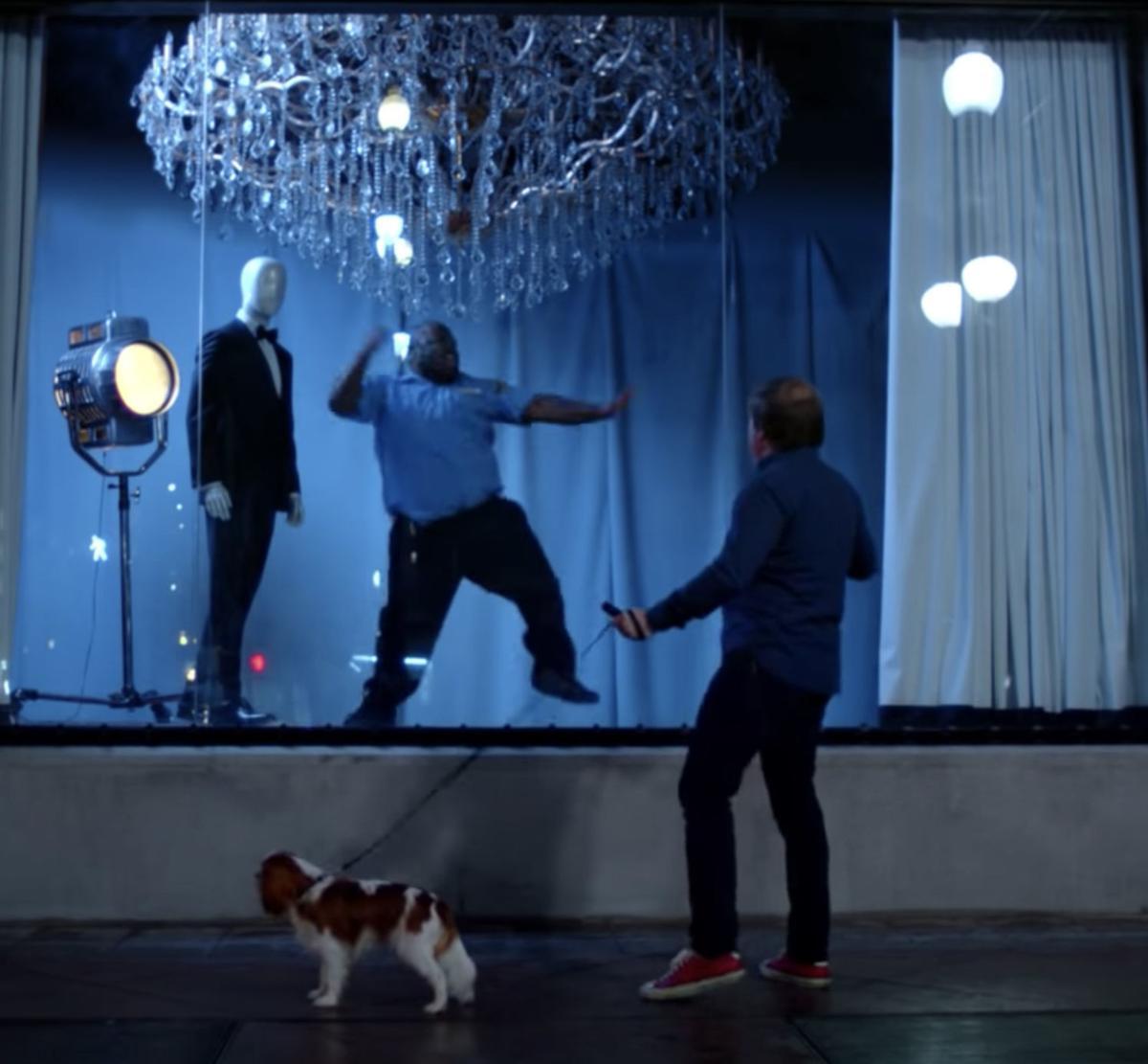 Screen shot from U tube video