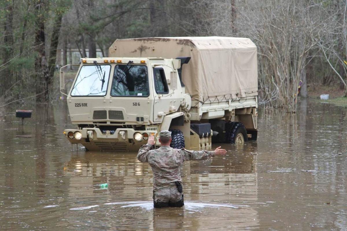 Flooding in Grant Parish