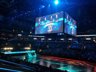 Staples Center, League of Legends Gaming final, 2016