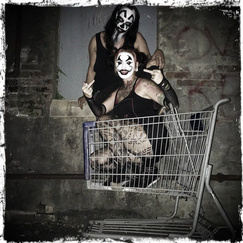 """""""Deviant,"""" Southern Mississippi Juggalo rappers in love, bring killer clown music to New Orleans_lowres"""