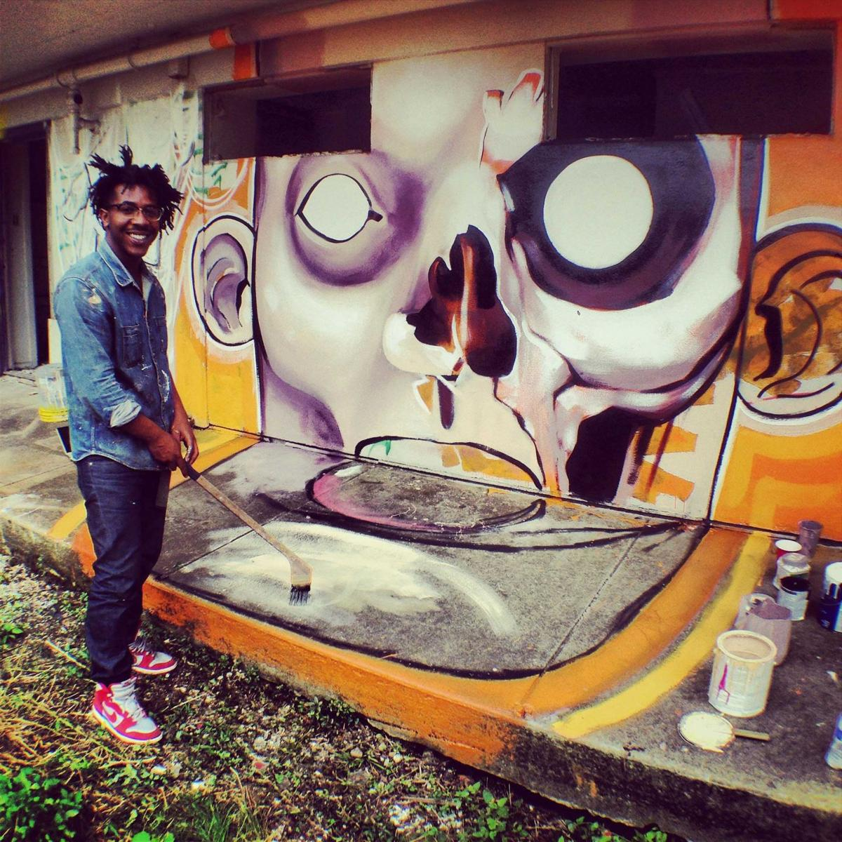 ExhibitBE graffiti site hosts poet protest from 1 to 3 on Saturday, Dec. 13