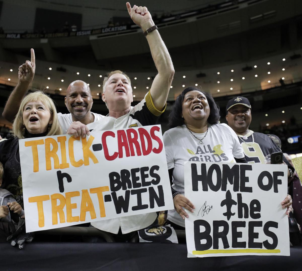 Photos Drew Brees Makes Triumphant Return To Saints Offense