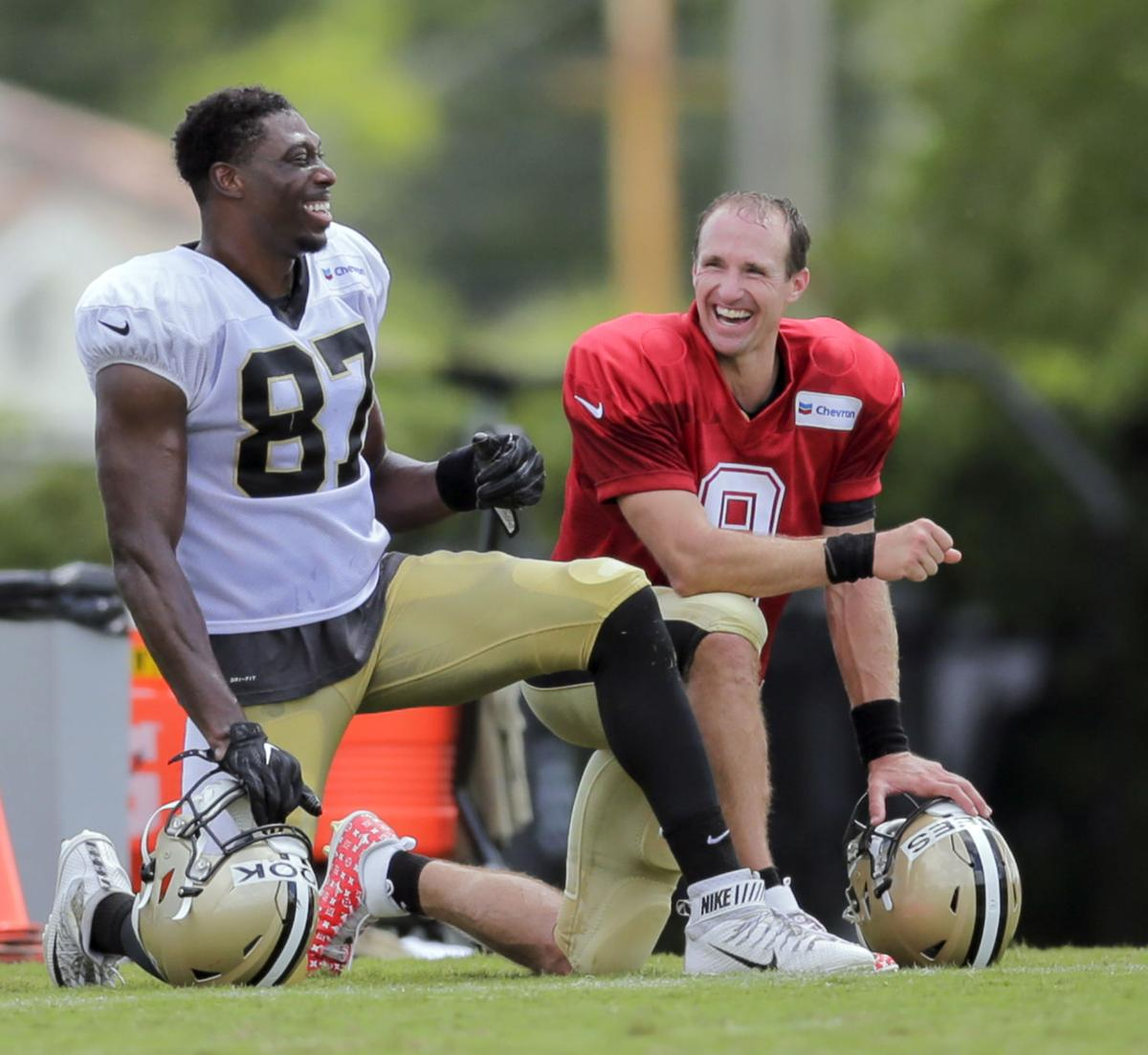 online store 99838 07154 Jared Cook and Drew Brees are developing all-important ...