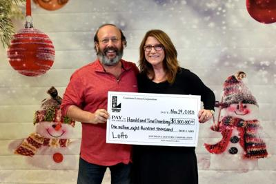 Mandeville couple wins $1.8 million lottery prize