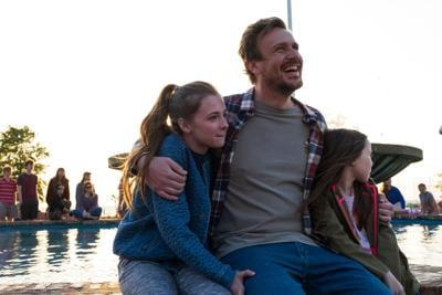 Jason Segel with Teague girls.jpg