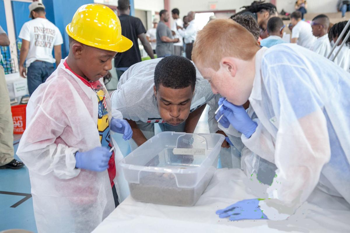 STEM NOLA Day in Algiers puts environmental science to action (copy)