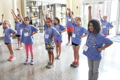 Gambit's summer camps. St. mary's domincan jumpin' for Joy