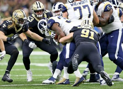 Next challenge for Saints' run defense: The Rams emergent 2-headed RB attack (copy)