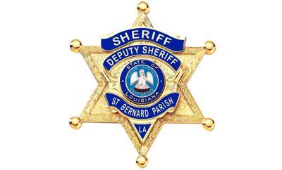 St. Bernard Parish Sheriff's Office badge horiz
