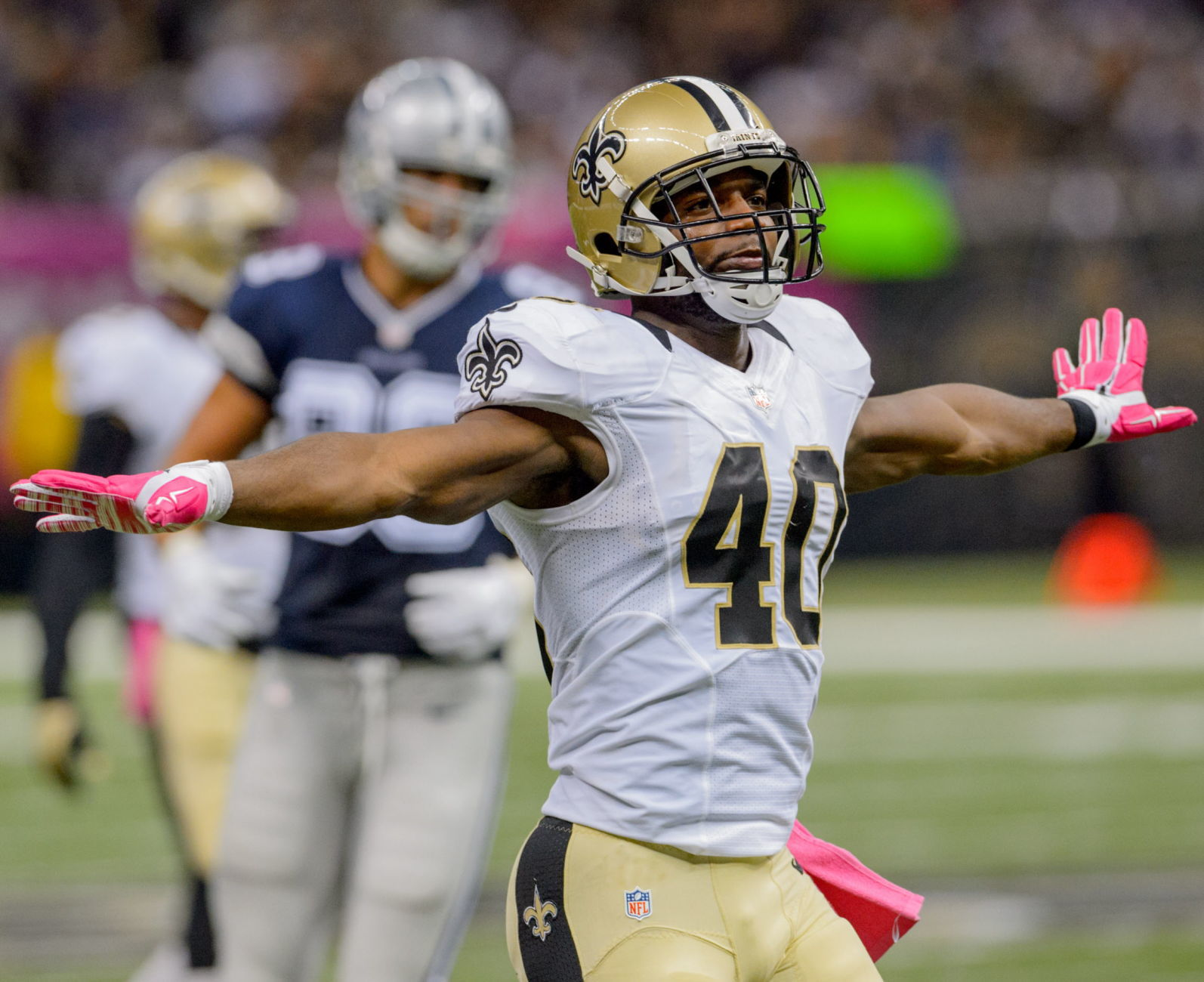 Former Saints CB Delvin Breaux had answer for no-call in Rams loss ...