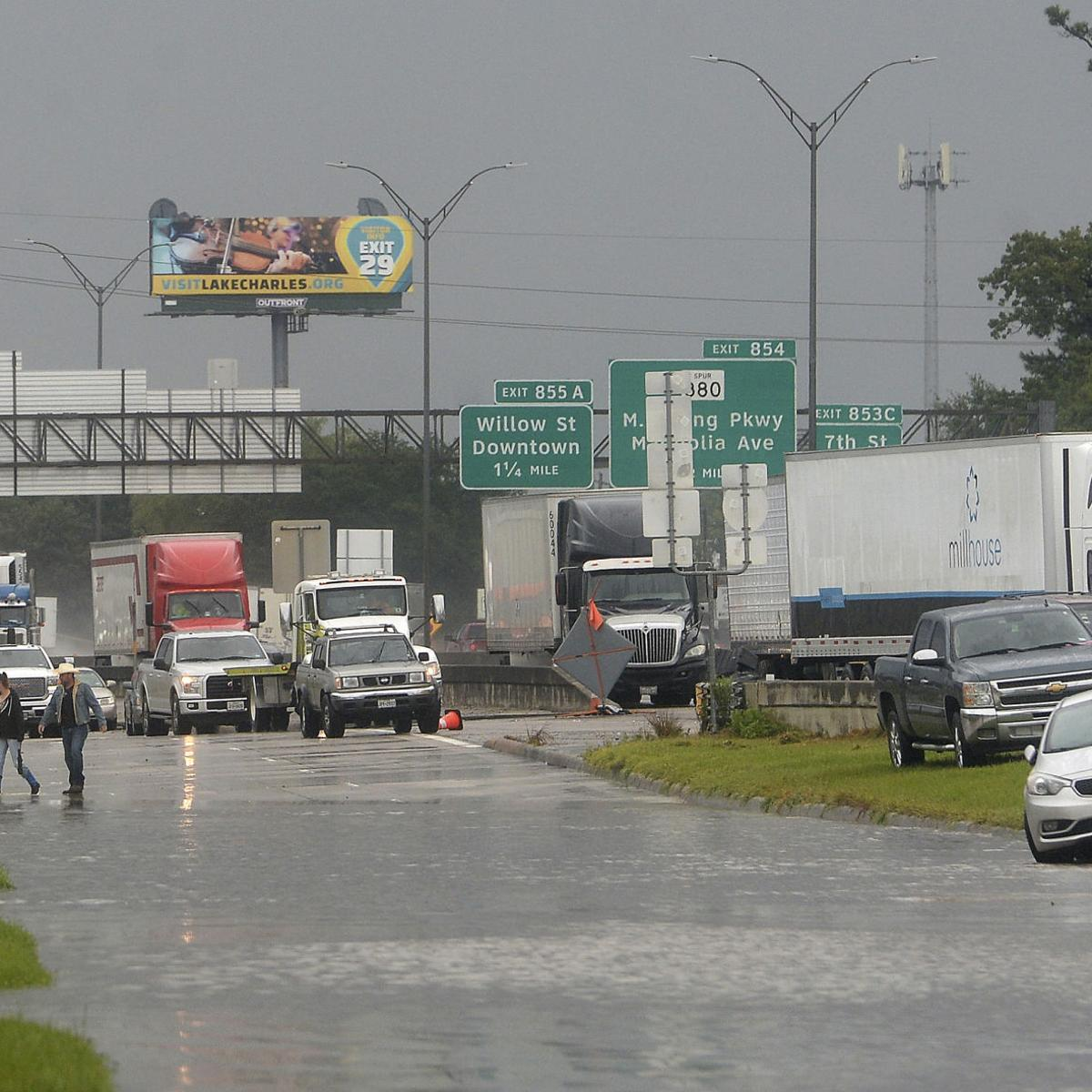 I-10 reopens at Louisiana state line, remains closed on ... on interstate 27 highway map, interstate 40 map, eastern interstate highway map, hwy 90 map, i-70 highway map, us interstate highway map, interstate 81 highway map, i-35 highway map, interstate 75 highway map, national highway system map, interstate 71 highway map, interstate highway system, interstate 95 highway map, interstate 80 highway map, interstate 55 highway map, i-75 highway map, interstate 70 map, interstate 10 highway map, pa interstate highway map, united states interstate and highway map,