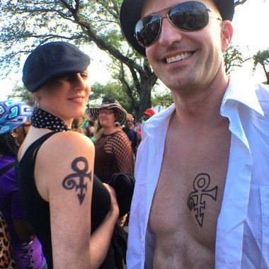 Prince 'Purple Rain Day' second line memorial parade in New Orleans