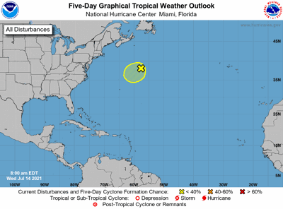 Tropical weather outlook 7am July 14