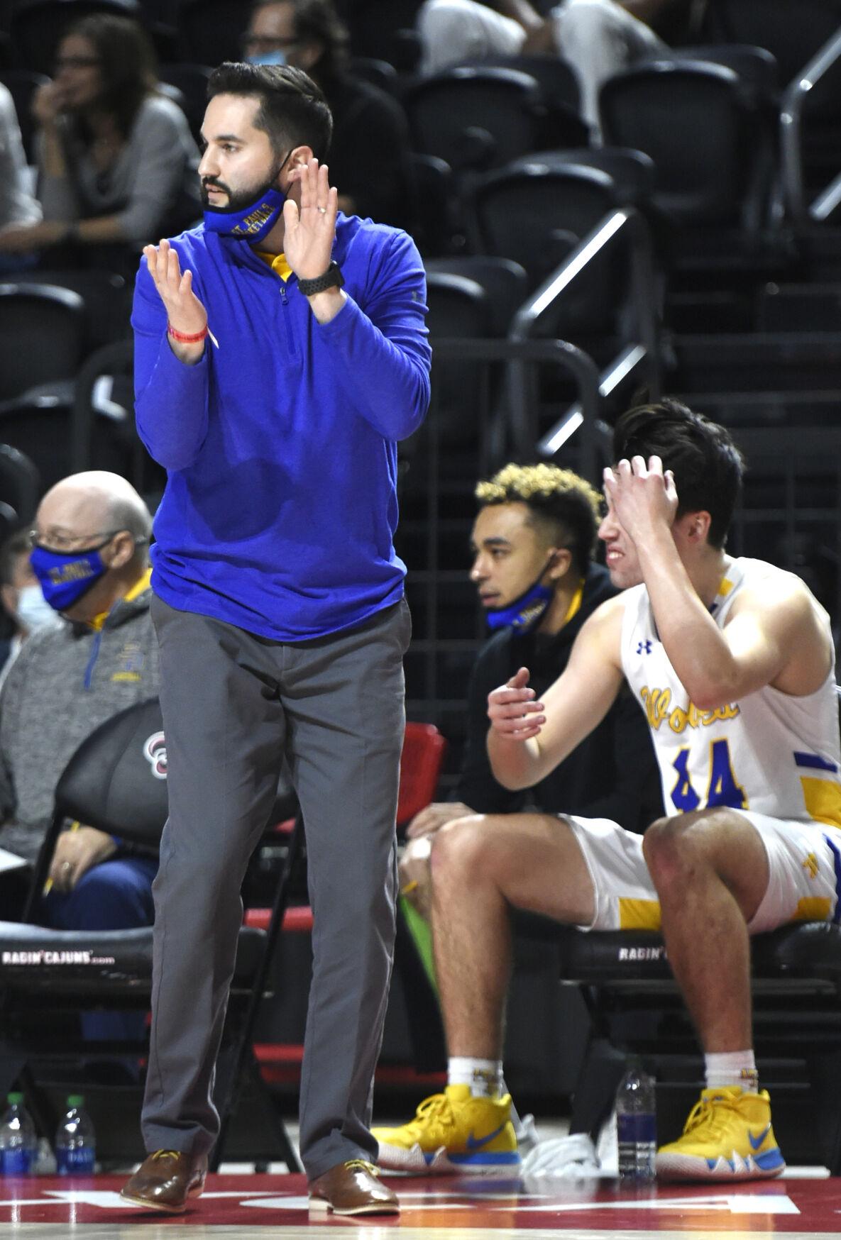 St. Paul's coach Stephen Dale