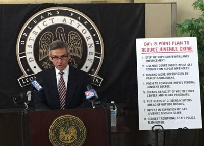 Leon Cannizzaro unveils juvenile crime plan
