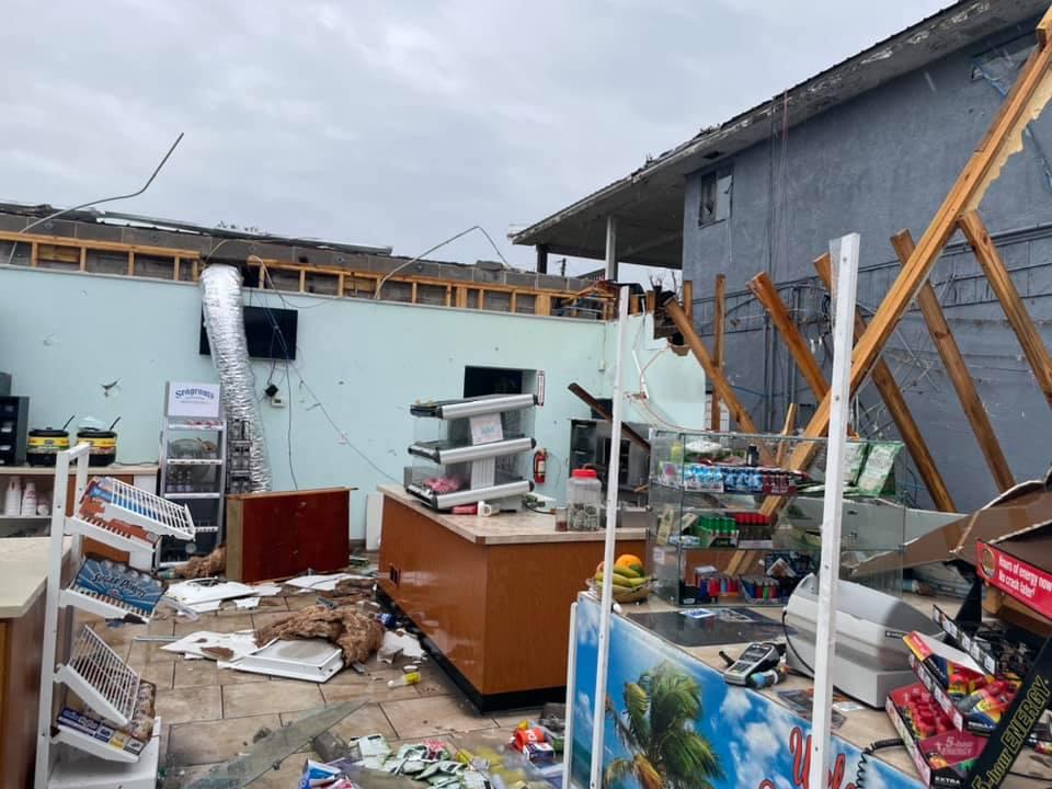 Panama City Beach damage