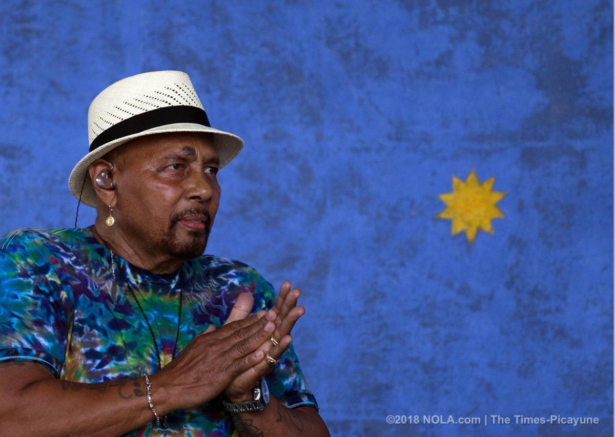 Charles Neville remembered by family members during their Jazz Fest 2018 performances