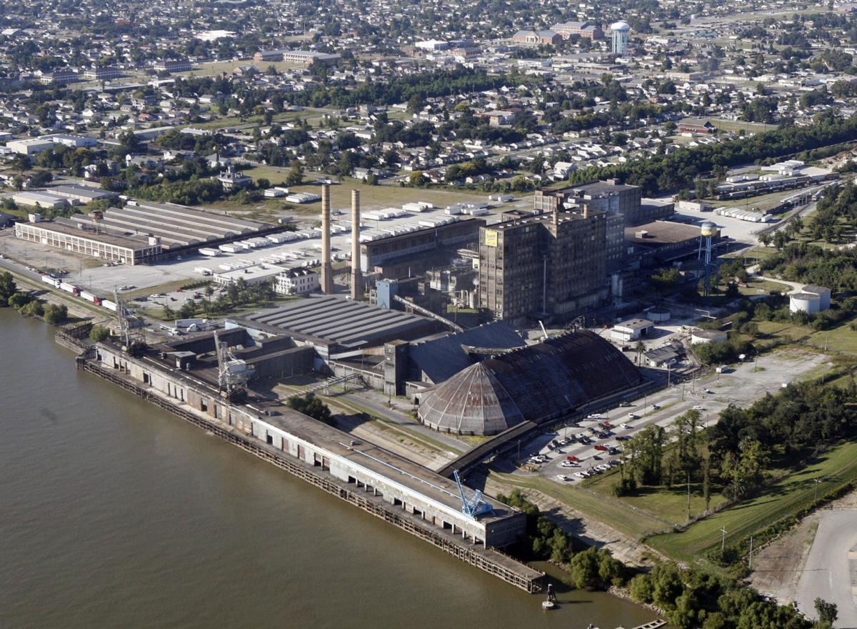 Domino Sugar refinery in Chalmette