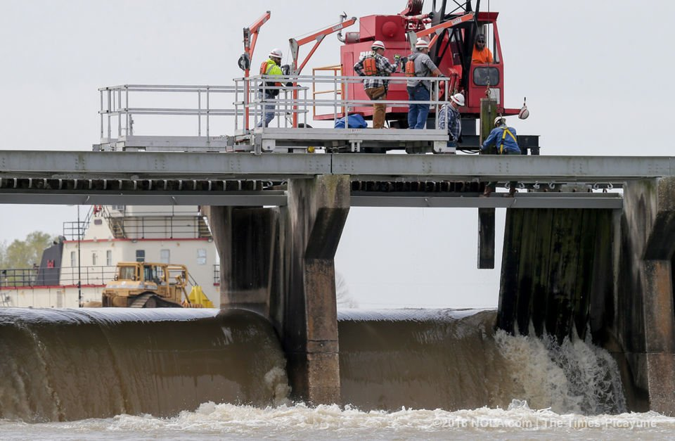 All Bonnet Carre Spillway bays will close Friday, Mississippi River still 'elevated'