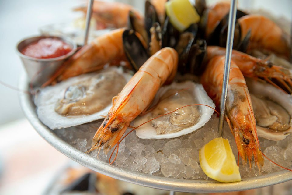 The six best cold seafood towers in New Orleans