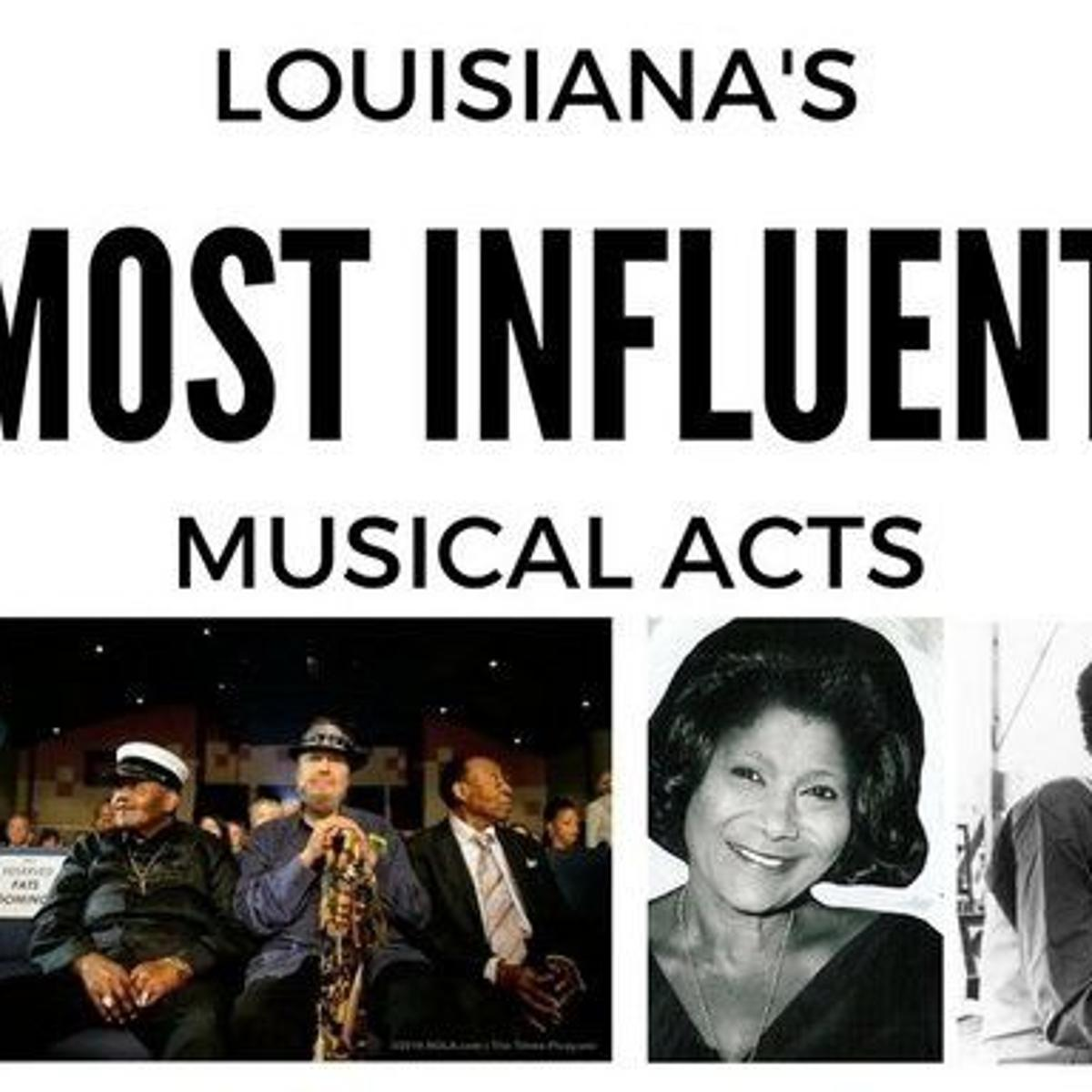 The 40 most influential musicians from Louisiana | Music