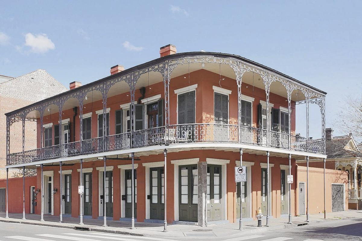 1200 North Rampart St. in the French Quarter