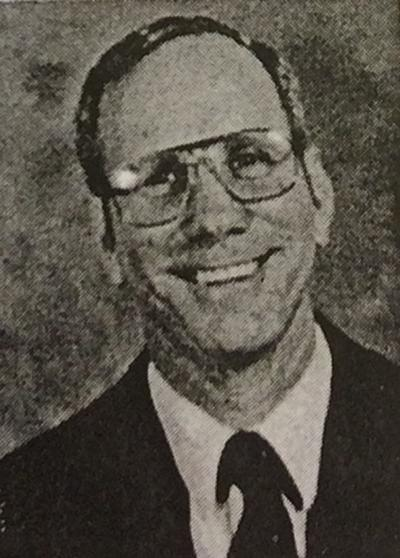 George Brignac year book photo early 1980s