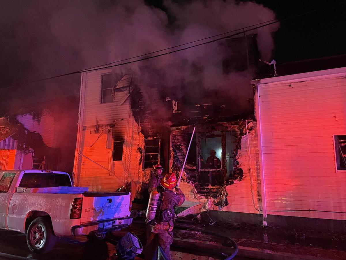 Central City apartment fire