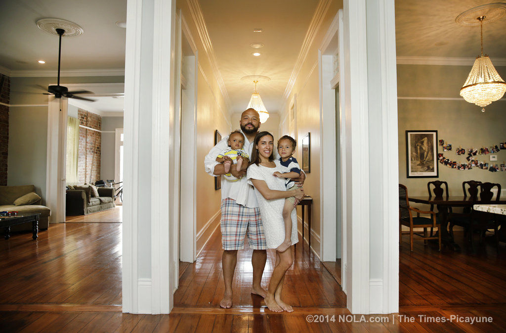 Young family breathes new life into 165-year-old Treme landmark