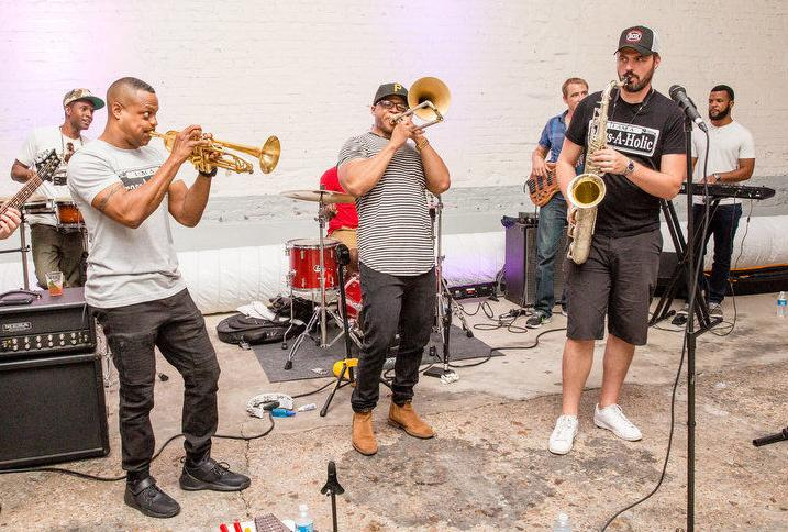 The Brass-A-Holics will perform at the first Algiers Mardi Gras Festival on Feb. 1