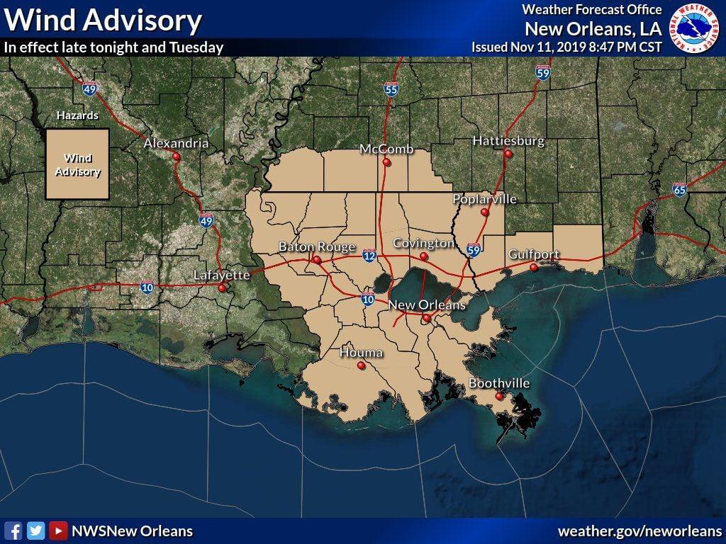 wind advisory november 12