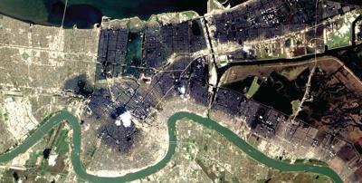 Katrina Flooding Interactive Image