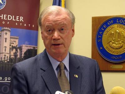 Tom Schedler resigns as Louisiana secretary of state, amid sexual harassment allegations