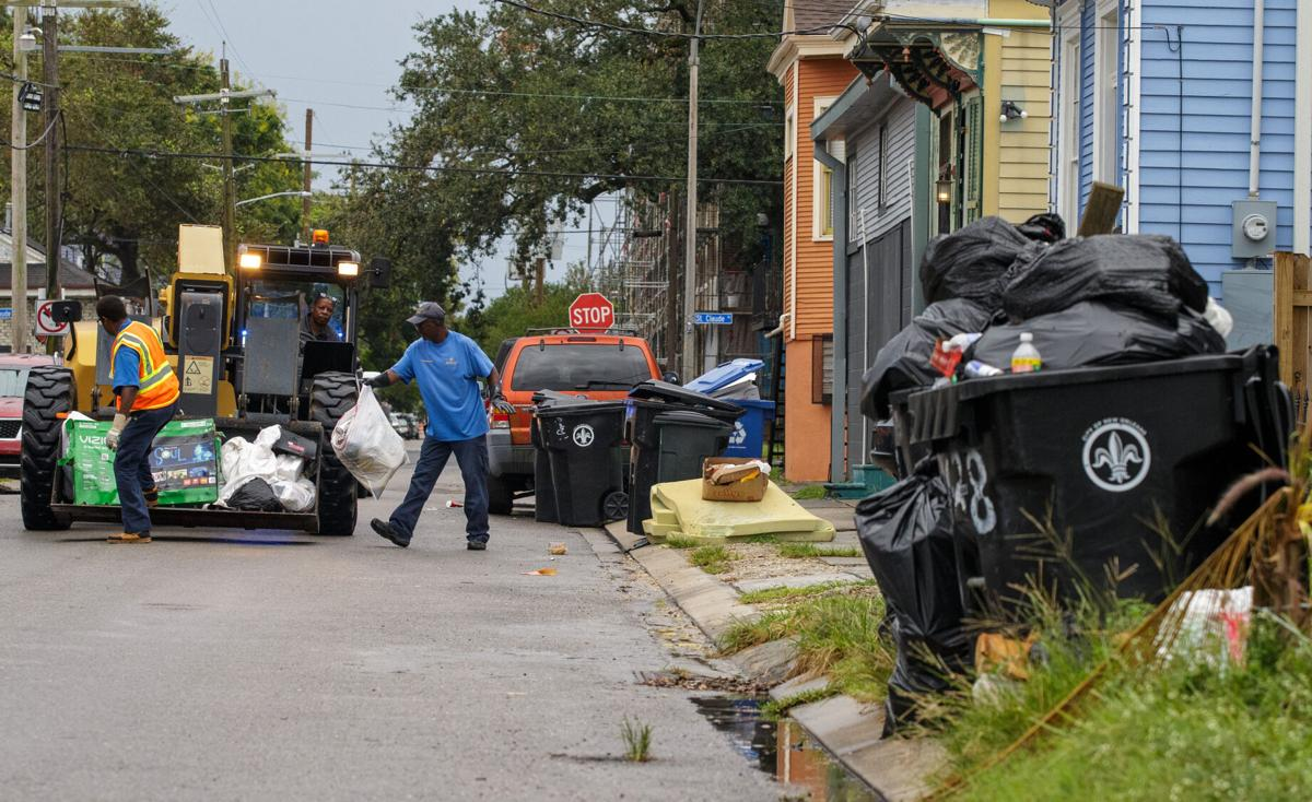 Councilman Giarrusso asks residents to report trash collection status online
