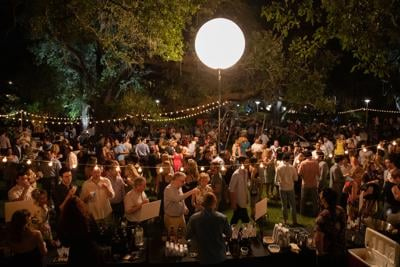 Enjoy a Night in the Sculpture Garden at this Festive Event
