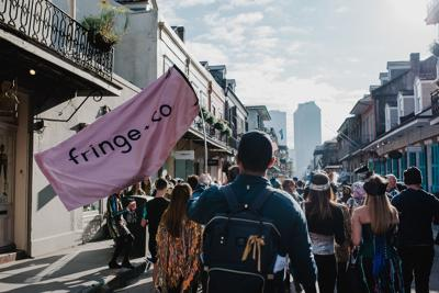 Fringe+Co.'s Sequin Secondline Returns this Weekend