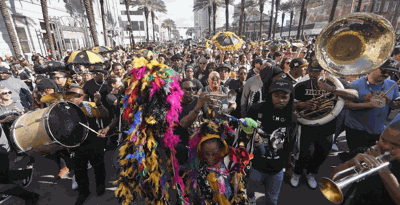 The Who Dat Nation Rally & Music Festival Is the Perfect Place to Celebrate the Saints