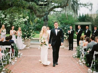 Carol McDonald and Ryan O'Connor's Elegant City Park Nuptials