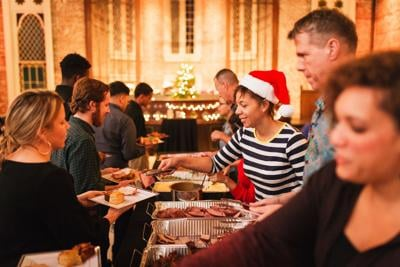 Nina Compton Provided a Christmas Feast for the Young Men of Son of A Saint