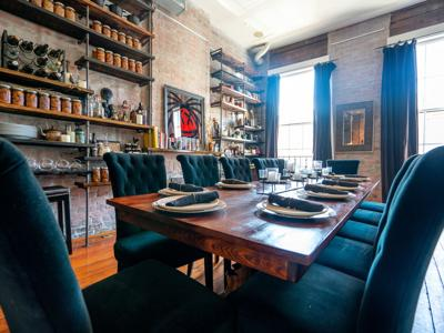 A Look Inside Gris-Gris' New Private Dining Experiences