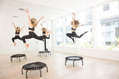 Bounce 101: What to Expect during MVMT by Romney's Trampoline Class