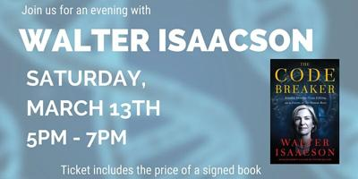Enjoy an Evening in the Garden with Author Walter Isaacson