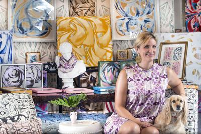 Inside Amanda Stone Talley's Magazine Street Gallery