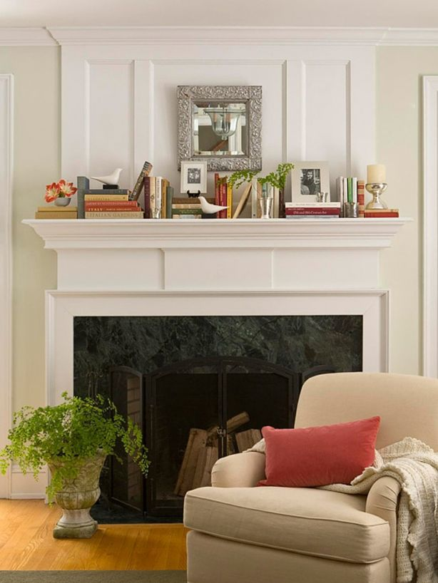 8 Ways To Decorate Your Fireplace With, How To Decorate Mantel Above Fireplace