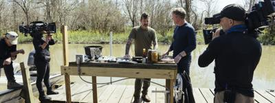 "Chef Eric Cook Represents Louisiana on ""Gordon Ramsay: Uncharted"""