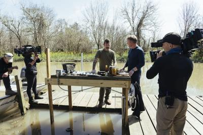 "Chef Eric Cook Represents Louisiana on ""Gordon Ramsay: Uncharted"""