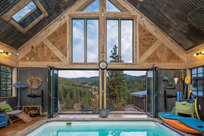 Escape the Heat at this Secluded Mountain Retreat