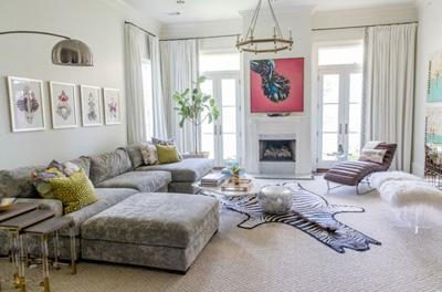 Take a Look Inside Emily Walker Puckett's Fashionable Uptown Home