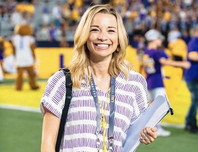Morning Routine: Emily Dixon of LSU Football