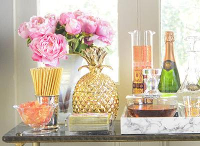 How to Build the Perfect Bar Cart